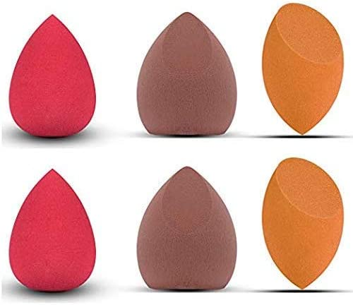 6PCS Makeup Sponge Set Latext free Beauty Sponge Makeup Blender Foundation Sponge Applicator product image