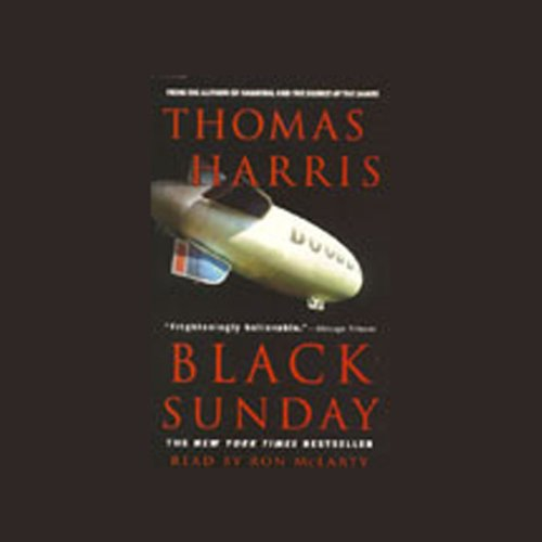 Black Sunday audiobook cover art