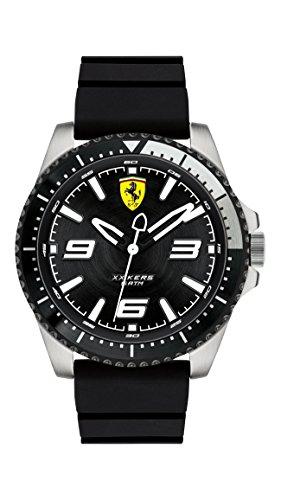 Scuderia Ferrari Reloj Análogo clásico para Hombre de Cuarzo con Correa en Silicona 830464