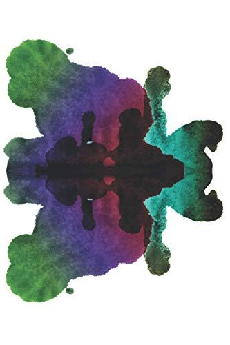 Rorschach Test Journal: Ruled Notebook With Psychological Test - Rorschach Test Picture Journal By Swiss Psychologist Hermann Rorschach For Writing ... Write In) (Rorschach Test Notebooks, Band 3)