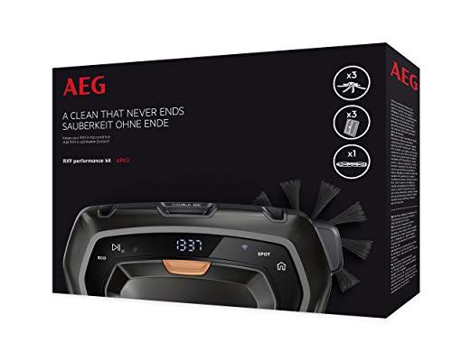 Aeg Ark2 Performance Kit Brosse Principale Noir Set de 7