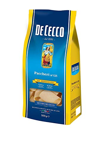 Pasta De Cecco 100% Italienisch Paccheri n 125 Nudeln 500g