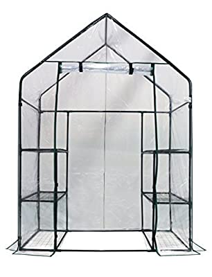 Homewell Walk-in Greenhouse 3 Tiers