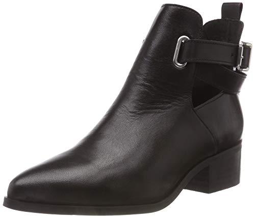 Bianco Damen Open Strap Boot Stiefeletten, Schwarz (Black 100), 39 EU