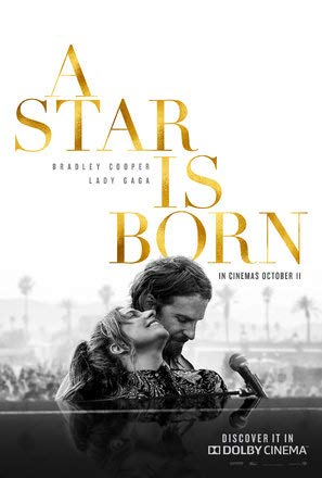 A Star is Born – Bradley Cooper – U.S Movie Wall Poster Print - 30cm x 43cm / 12 inches x 17 inches Lady Gaga