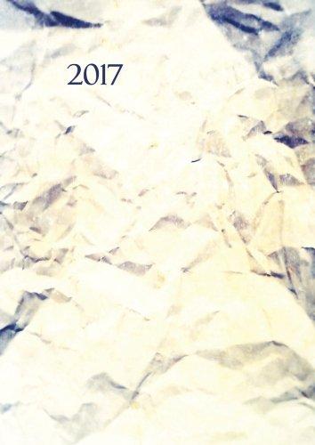 dicker TageBuch Kalender DIN A4 - 2017 - Papier: Endlich genug Platz für dein Leben! 1 Tag = 1 A4 Seite