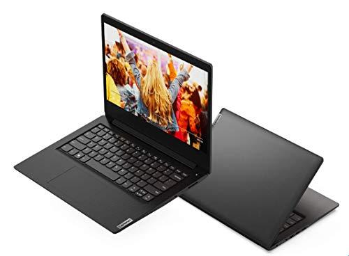"2021 Lenovo IdeaPad 3 14.0"" HD Light and Slim Laptop, Intel Pentium Gold 6405U Processor, 4GB RAM, 128GB SSD, Webcam, WiFi, Bluetooth 5, HDMI, Windows 10 S, Black, W/ IFT Accessories"