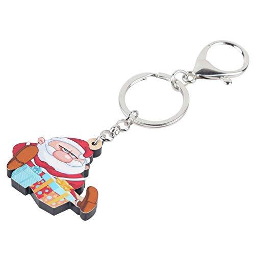 HXYKLM Acryl Doos Sleutelhangers Sleutelhangers Handtas Auto Handtas Sleutelhangers Voor Vrouwen Meisje Bedel Mode Gift
