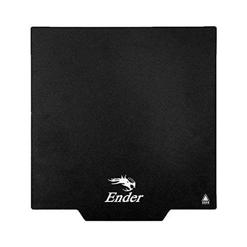Creality Ender 3 Upgrade Base de impresión magnética, 235 x 235 x 1 mm, para Ender 3, Ender 3Pro, Ender 5, CR20, CR20 Pro