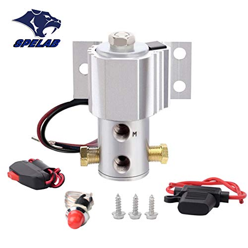 Brake Line Lock SPELAB Universal Launch Control Electric Solenoid Kit Hill Holder Silver
