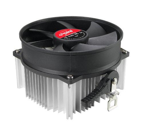 Spire SP805S3 Procesador Enfriador - Ventilador de PC (Procesador, Enfriador, Socket AM2, Socket AM3, Socket AM3, Socket FM1, Socket FM2, AMD Phenom II X3,AMD Phenom II X4, 9,5 cm, 2400 RPM)