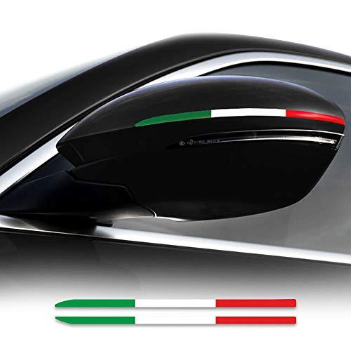 Stripes Strisce Adesive Tricolore Italia per Specchietti Alfa Giulia