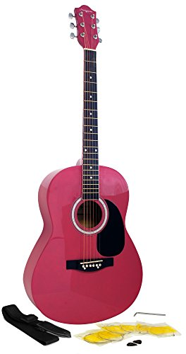 Martin Smith W-100-PNK-PK Acoustic Gitarre Rosa