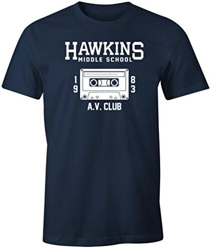 Stranger Things Hawkins Middle School AV Club Netflix Original Iron On Patch