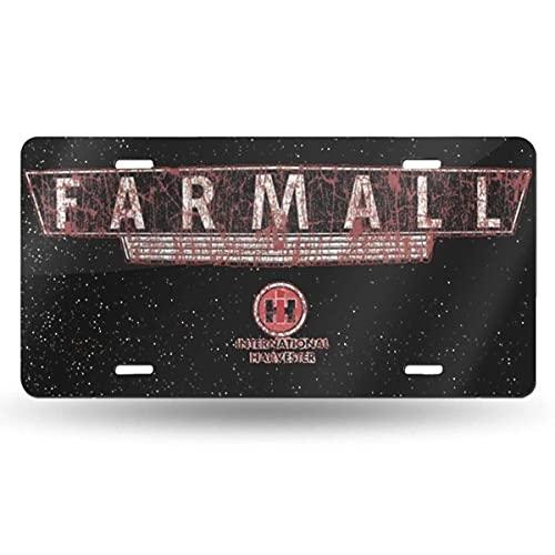 Lawenp International Harvester License Plate 6' X 12'