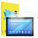 MoKo Lenovo Tab 4 10 Protector de Pantalla [2 PCS] - [Rasguño Terminador] Premium HD Claro Dureza...