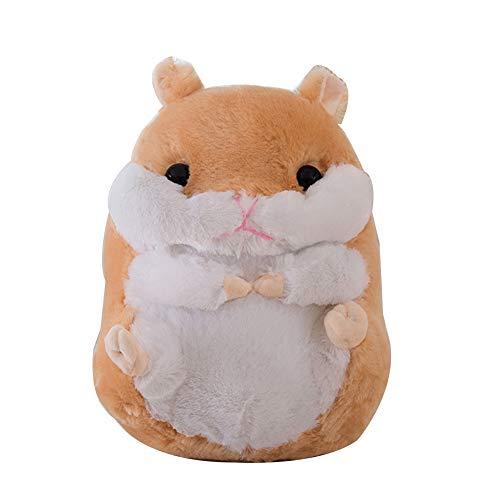 Homeofying 40/50/60 cm niedliches Hamster-Plüschtier Simulation Tier Kissen Weiches Kissen Simulation Hamster Plüsch Kuscheltier Puppe für Büro Kinderzimmer