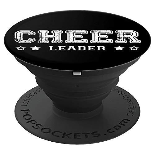 Cheer-Bögen Cheer-Schuhe Cheerleading Geschenke Cheerleader - PopSockets Ausziehbarer Sockel und Griff für Smartphones und Tablets