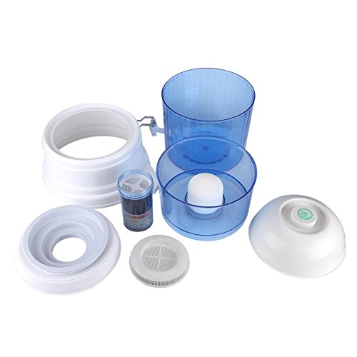 Jarra de filtro de agua Purificador de agua de 16L Carbón cerámico Mineral Purificar Filtro Dispensador Sistema de filtración Filtro de carbón activado Jarra Sistema de filtración de agua