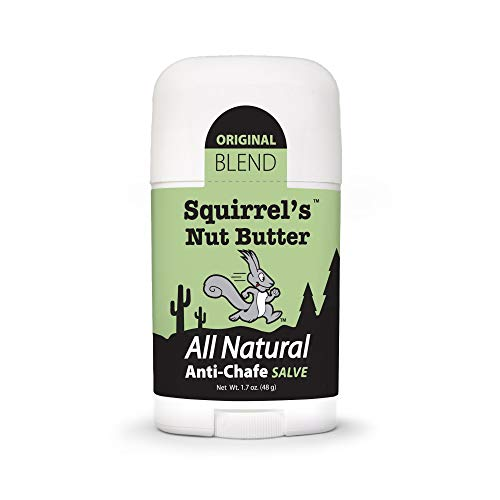 Squirrel's Nut Butter All Natural Anti Chafe Salve, Stick Applicator, 1.7 oz