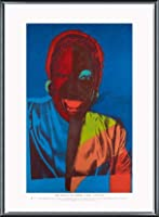 ポスター アンディ ウォーホル Ladies & Gentlemen exhibition 額装品 アルミ製ベーシックフレーム(ブラック)