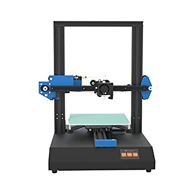 Anet ET4X DIY 3D Printer, All Full Metal Fram with Resume Printing Function, 2.8 Inch LCD Color Touch Screen, Upgraded Over-Current Protection Mainboard,220X220X250mm