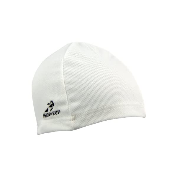 Headsweats Skullcap Beanie, White, One Size