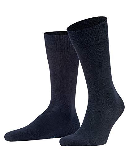 FALKE Herren Socken Family, Baumwolle, 1 Paar, Blau (Dark Navy 6370), 39-42 (UK 5.5-8 Ι US 6.5-9)
