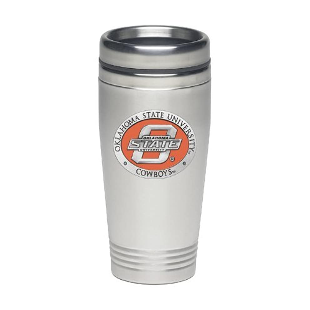 1pc, Pewter Oklahoma State University Thermal Drink