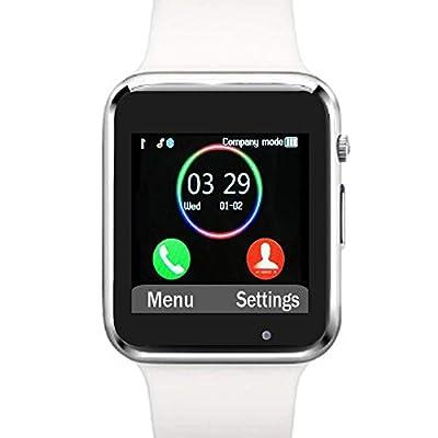 Funntech Smart Watch with Unlocked 2G GSM Phone Call Activity Tracker Fitness Tracker Pedometer Sleep Monitor A1
