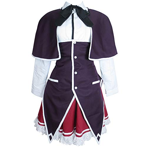 Xiao Wu High School DxD Devil Princess Rias Gremory Dress Anime Cosplay Costume (Female XL)