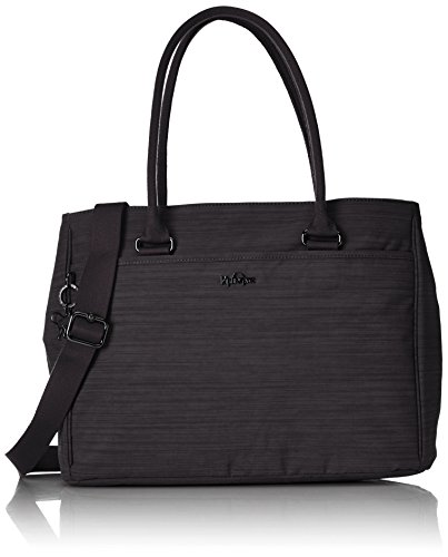 Kipling - Artego, Bolsas para portátil Mujer, Schwarz (Dazz Black), One Size