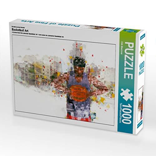 CALVENDO Puzzle Basketball Art 1000 Teile Lege-Größe 64 x 48 cm Foto-Puzzle Bild von Dirk Meutzner