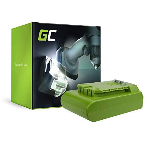 GC® (2Ah 24V Li-Ion Panasonic Zellen) G-24 Akku für GreenWorks Werkzeug, Gartengeräte Ersatzakku