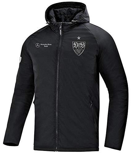 JAKO Erwachsene VfB Stuttgart Winterjacke, schwarz, M