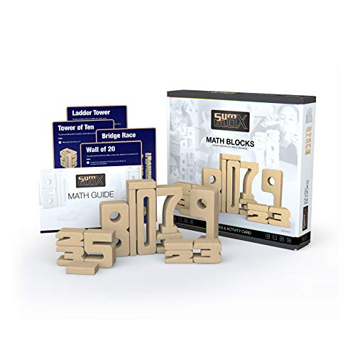 SumBlox <b Kit Familiar</b> - <i>Juego para Aprender</i> <BR>Un Juego de construcción en Que la Altura de los números es Igual a su Valor los números