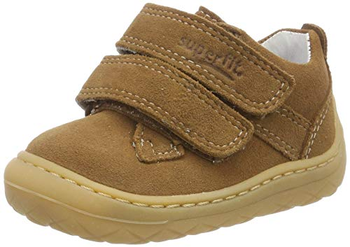 Superfit Baby Jungen SATURNUS Sneaker, Braun (Braun 30), 21 EU