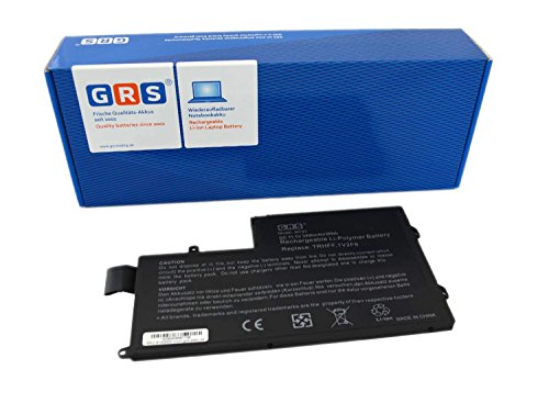 GRS Battery for DELL Inspiron 15-5547, DELL Inspiron 14-5447 serie, replaced: TRHFF, 1V2F6, 01v2f6, 0PD19, dl011307-prr13g01