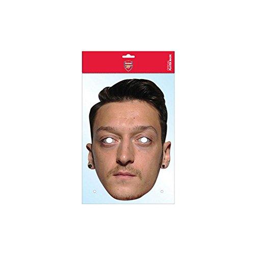 Mesut Ozil Arsenal FC Mask, Mask-arade Face Card Mask, Character Fancy Dress