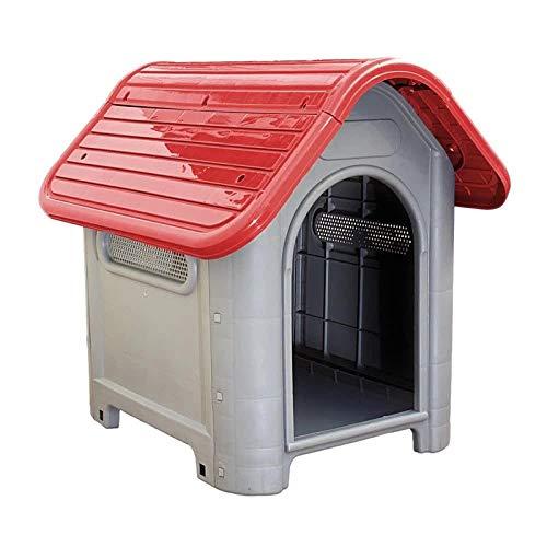 Casinha Vermelha Plástica para Cachorro Dog Home Número 3