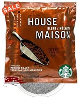 Starbucks House Blend 4 Cup Hotel Coffee 120 / Case