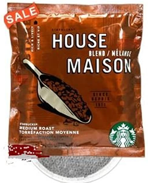 Starbucks House Blend 4 Cup Hotel Coffee 120 Case