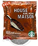 Starbucks 4 Cup House Blend Hotel Coffee 120 - 1 oz Foil Packets