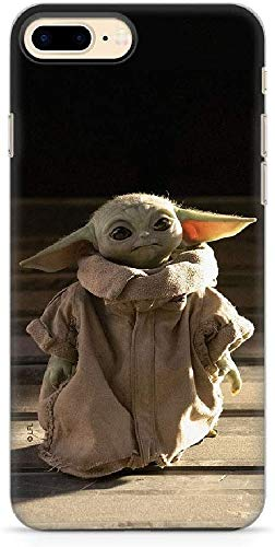 Original & Offiziell lizenziertes Star Wars Baby Yoda Handyhülle für iPhone 7 PLUS, iPhone 8 PLUS, Hülle, Hülle, Cover aus Kunststoff TPU-Silikon, schützt vor Stößen & Kratzern