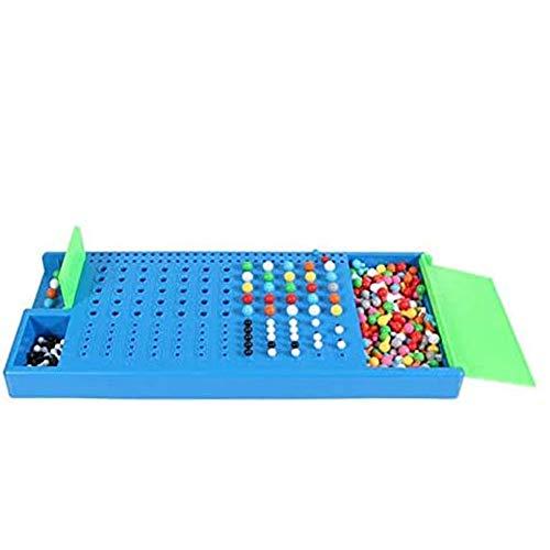 Dongbin Lustige Puzzle-Spiel Für Nachhaltige Produkte Lustige Familie Puzzle Game-Code Mastermind Zerbrechen Spielzeug Intelligenz Kinder Spielen Spielzeug,Blau