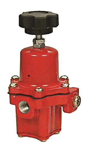 "Emerson-Fisher LP-Gas Equipment, 67CH-742, 1/4"" FNPT Connections, High-Pressure Regulator, Outlet: 30-60 PSI, Handwheel Adjustment, UL Listed"