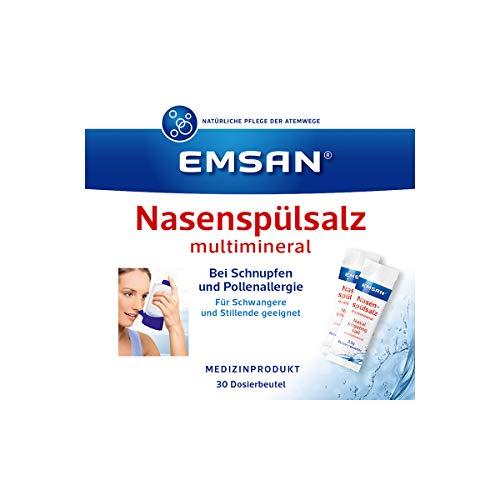 Emcur Nasenspuel-Salz 30 Beutel
