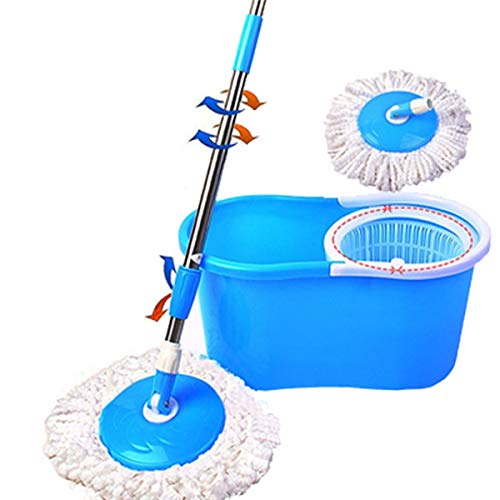 Denny International 360 Degree Spinning Mop Bucket Home Cleaner With Two...
