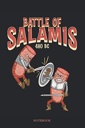 Battle of Salamis. 480 B.C. Notebook