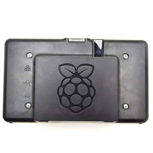Dasing 7-Inch LCD Press Screen Case Black for Raspberry Pi 3B / 3B +,Only the Case Not Include the Screen